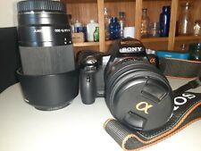 Sony Alpha SLT-A35 16.2MP Digital SLR Camera - Black (Kit w/ DT SAM 18-55mm...