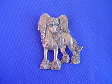 Chinese Crested necklace pewter Princess 22G Toy Dog Jewelry by Cindy A. Conter
