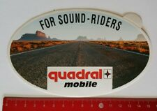 Aufkleber/Sticker: quadral mobile - For Sound-Riders (14041789)