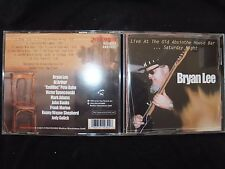 CD BRYAN LEE / LIVE AT THE OLD ABSINTHE HOUSE BAR.... /
