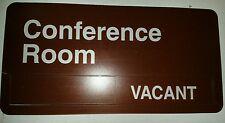 "Accuform Signs Mflplxb3 Plastic Dura-Shield Slide Sign, Legend ""Conference Room"
