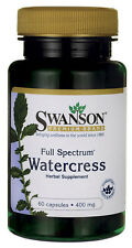 WATERCRESS 400MG IMMUNITY IMMUNE LIVER ANTIOXIDANT HEALTH SUPPLEMENT 60 CAPSULES