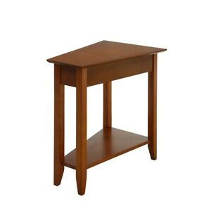 Convenience Concepts American Heritage Wedge End Table, Cherry - 7105060CH