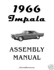 1966 Chevy Impala Assembly Manual 66