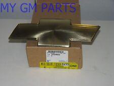 TAHOE SUBURBAN GOLD BOWTIE GRILLE EMBLEM 2000-2006 NEW GM  12335633