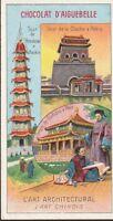 chromo aiguebelle- l'art architectural (art chinois)