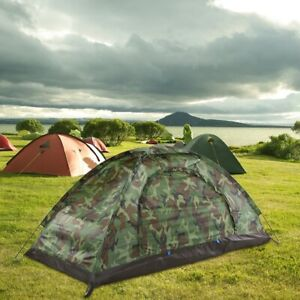 Camping Tents one Person Waterproof Single Layer Tent for Outdoor Travel Hiking