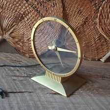 Vintage The Jefferson Golden Hour Electric Clock