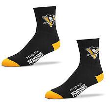 Hockey Pittsburgh Penguins Team Socks 501 Quarter Length Large Size Men 10-13