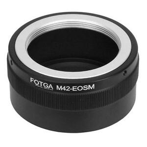 Fotga for M42 Mount Lens to Canon EOS M EF-M Mirrorless Camera Adapter Ring b