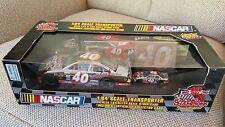 Racing Champions NASCAR 1:64 TRANSPORTER and Stock Car AND 1:24 Car 40 Sabeo
