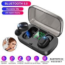 Mini Twins Wireless Bluetooth 5.0 Earbuds Sport Stereo Headset In-Ear Headphones