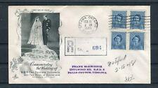 Einschreiben Erstagsbrief Kanada Mi.-Nr. 246 Viererblock - b4578