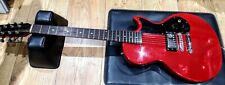 Orville (Gibson) Melody Maker Guitar Red MIJ Japan PAF 1990 Serviced Cleaned