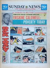 New York Sunday News - 12 page color comic section - Mary Perkins, Oct. 24, 1971