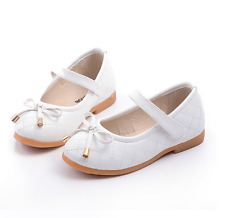 Fashion Girls Flat Dress Party Shoes Children Toddler Kid Flower Princess Shoes