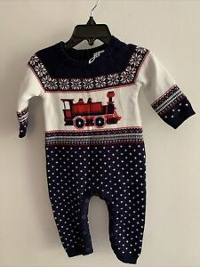 NWT Janie and Jack sweater romper  3-6 months