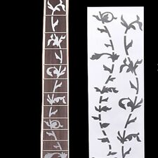 Inlay Pearl Inlay Fret Board Silver Decoration Tree Guitar Sticker Ultra Thin