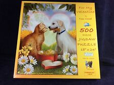FOR MY VALENTINE 500 PIECE JIGSAW PUZZLE BY TOM WOOD.