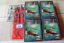 Juegos taller Warhammer 40k Eldar jetbikes x5 Nuevo nuevo y en caja craftworlds GW fuera de imprenta 2000s