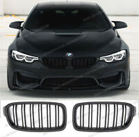 BMW f30 f31,saloon estate,twin slat,M Performance Grilles,Matte Black,Shadowline