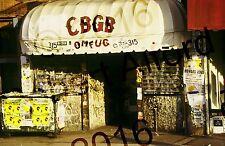 CBGB OMFUG New York City Music Club 315 Bowery Original 12x18 Photo Photograph