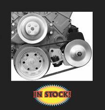 Alan Grove Power Steering Bracket SB Chevy SWP 55-57 Chevy - Drivers 404L