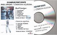 AVRIL LAVIGNE CHRISTINA AGUILERA instore french promo cd sampler papersleeve