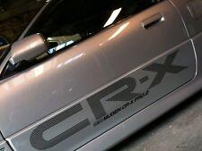 CR-X Mugen Pro2 body kit door cap decals metallic colours