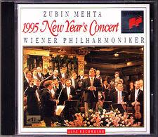 Neujahrskonzert aus Wien 1995 Zubin MEHTA CD New Year's Concert from Vienna SONY