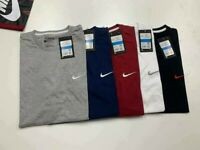 nike men's t-shirts logo tee crew neck men clothing - free post UK only
