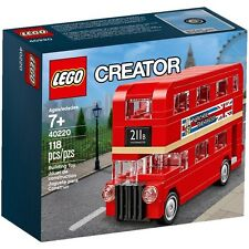 Lego Creator London Bus 40220 Box Set - Brand New Sealed 1st Class Delivery