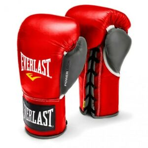 Everlast Powerlock Pro Fight Gloves 10 oz XL (retail $149.99)