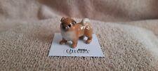 """Little Critterz Dog Chow Chow """"Pinyin"""" Miniature Figurine New Lc819"""
