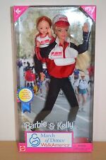 1998 K Mart Special Edition Playline Collector MARCH OF DIMES Barbie & Kelly
