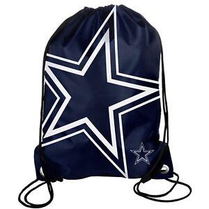 Dallas Cowboys Back Pack Sack Drawstring Bag Tote NEW Backpack Star BIG LOGO