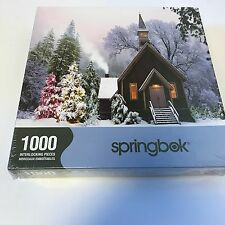 Springbok Country Christmas 1000 Piece Jigsaw Puzzle