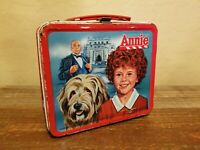 Vintage 1981 Aladdin Annie Lunch Box without Thermos
