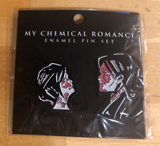 MCR MY CHEMICAL ROMANCE THREE CHEERS FOR SWEET REVENGE 2 PACK ENAMEL PIN