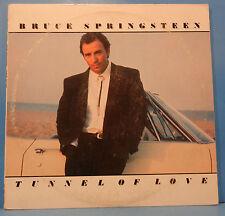 BRUCE SPRINGSTEEN TUNNEL OF LOVE VINYL LP 1987 ORIGINAL GREAT COND! VG++/VG+!!C