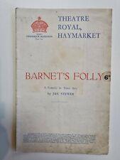 More details for barnet's folly - muriel aked jan stewer jane harwood mary jerrold reginald tate