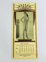 Vintage 1962 Superior Switchboard Advertising Pinup Calendar