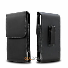 Leather Case Holster Pouch Cover for Samsung Galaxy A5 A7 j7 Prime Belt Clip
