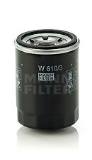 Mann & Hummel Oil Filter W 610/3 - BRAND NEW - GENUINE - 5 YEAR WARRANTY
