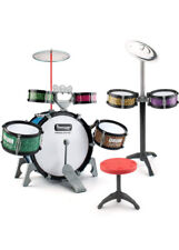 BEAURE 13 Pieces Toddlers Jazz Drum Set for Kids Educational Musical Playset ...