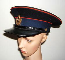 Original Schirmmütze der Royal Engineers, Pioniere, Georg VI, 1936-52, WWII, rar