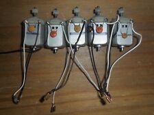 Scalextric 5 Mabuchi motori, i fili + Spade Connettori & PIGNONE superba RICAMBI