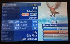 Pokemon Sun Moon Custom Shiny Talonflame 6IV Guide with a Gold Bottle Cap