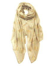 Metalic Rose gold Elephant Ladies Summer Soft  Scarf Wrap Gift 4 colours