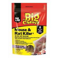 The Big Cheese Mouse & Rat Killer Pasta Sachets - 6 Pack